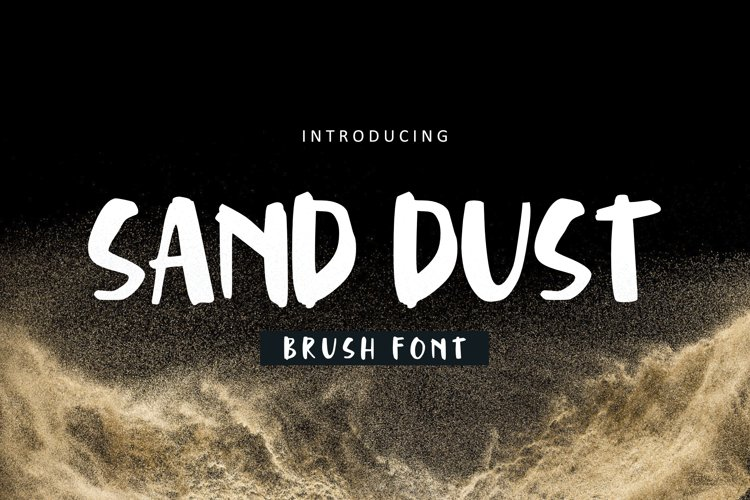Sand Dust Font example image 1