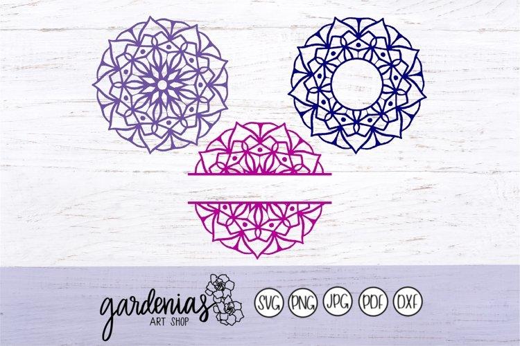 Mandala Monogram Frames example image 1