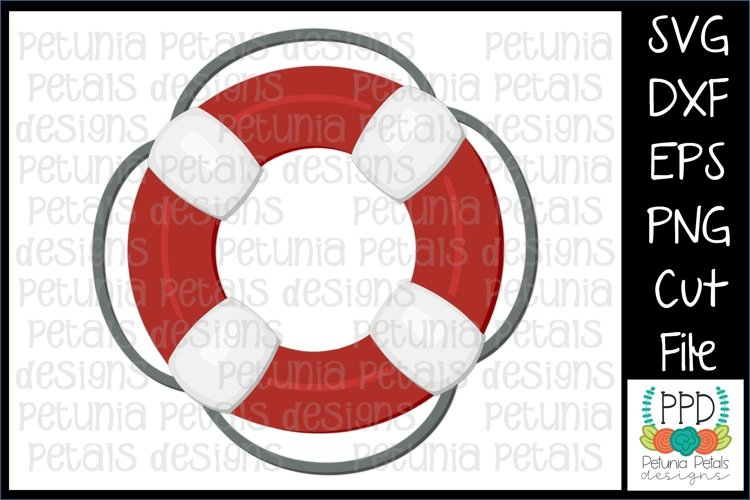 Life Preserver SVG 11276 example image 1