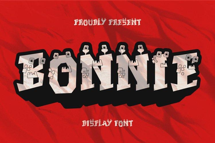 Bonnie Font example image 1