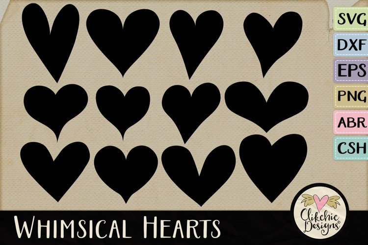 Hearts SVG & DXF Cutting files, Shapes, Photoshop Brushes