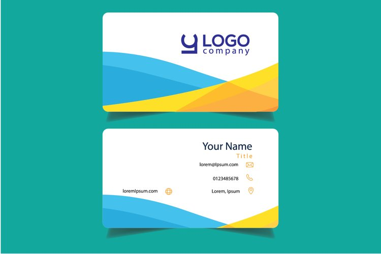 Simple Corporate Bussiness Card