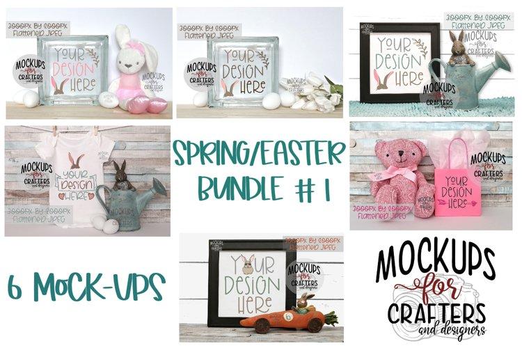 SPRING/EASTER BUNDLE #1 - SIX MOCK-UPS