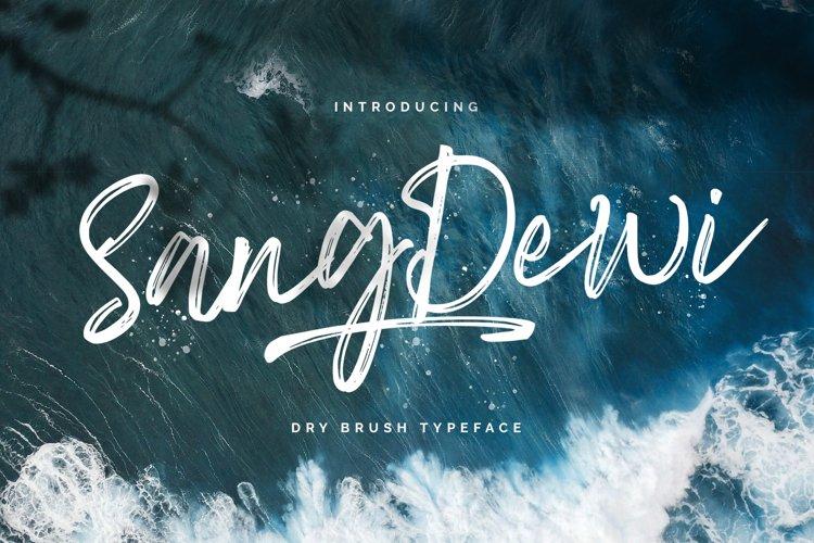 Sang Dewi - Handbrush Script Font example image 1