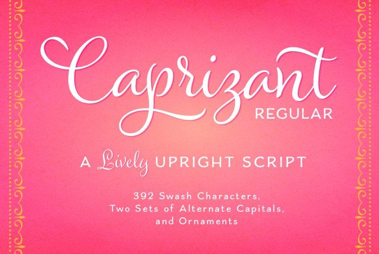 Caprizant Regular example image 1