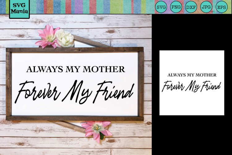 Mother's Day SVG File, Mother Saying SVG, Mom Quote SVG File example image 1