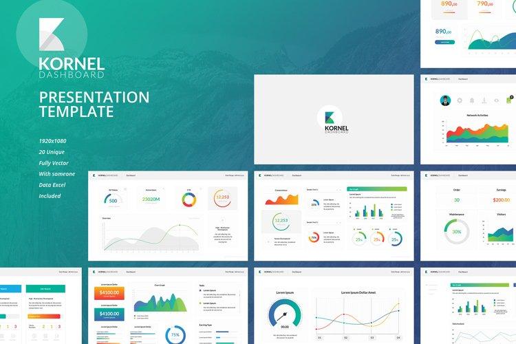 Kornel Dashboard Keynote Presentation Template