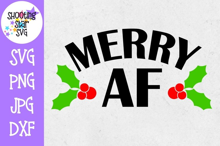 Warning Mistletoe Zone SVG and DFX Cut File and Sublimation Design