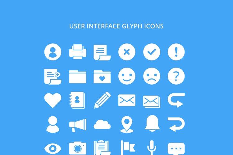 UI Glyph Icon example image 1