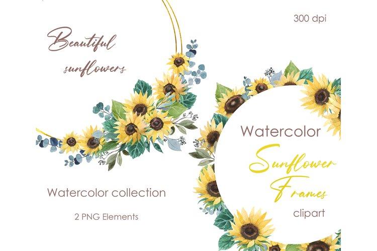 Watercolor clipart. Floral clipart digital spring floral