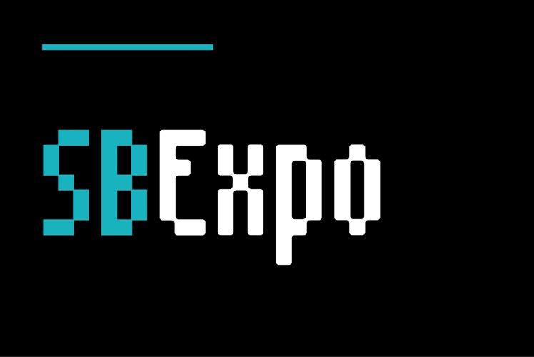 SB Expo - Pixel Font example image 1