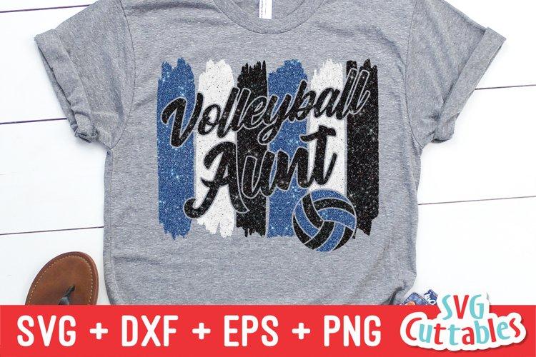 Volleyball SVG   Volleyball Aunt   Shirt Design
