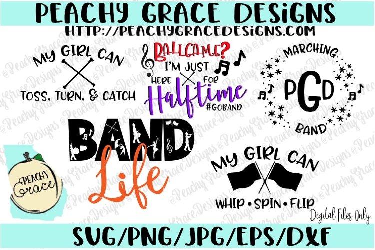 Marching Band SVG Bundle