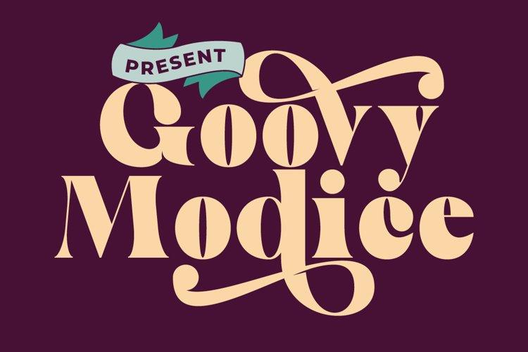 Goovy Modice example image 1