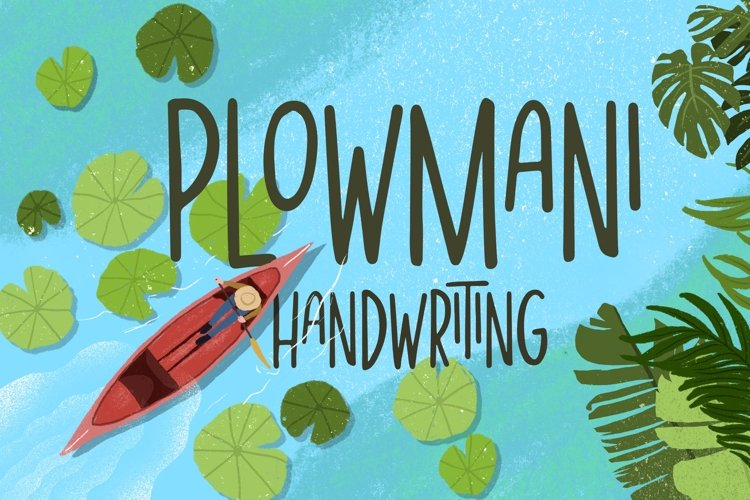 Plowmani - Handwriting example image 1