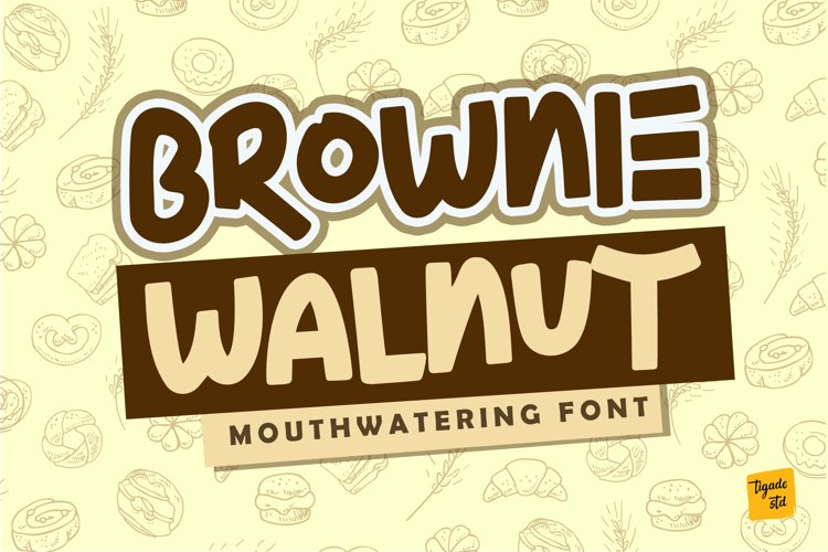 Brownie Walnut example image 1