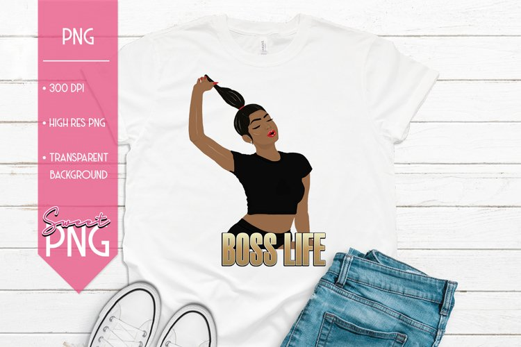 Boss Life African American Woman example image 1