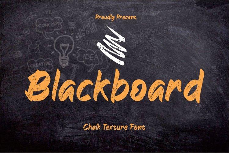 Blackboard example image 1