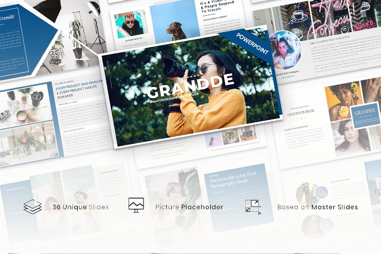 Grandde - Creative Business PowerPoint Template example image 1