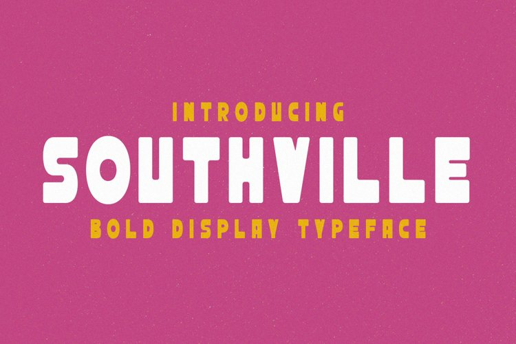 Southville - Bold Display Typeface example image 1