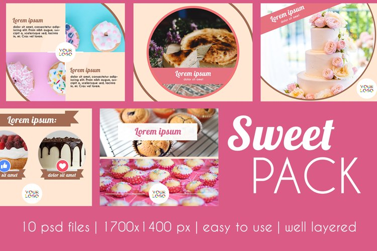 Sweet Pack example image 1