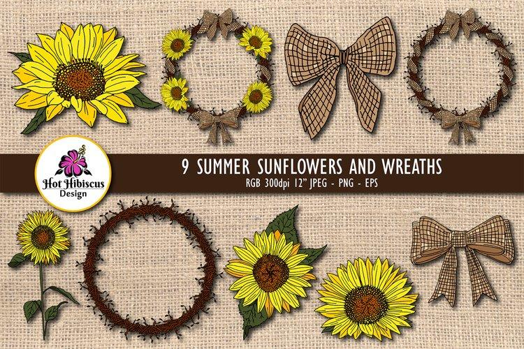 Sunflower Clipart | Sunflower Illustration Transparent
