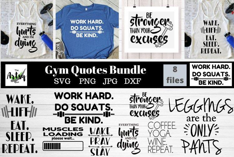 Workout Bundle, Exercise svg Bundle, Gym quotes bundle svg