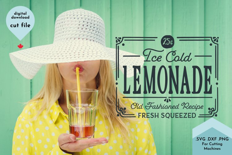 Summer SVG, Lemonade Sign, Cute Farmhouse Decor example 2