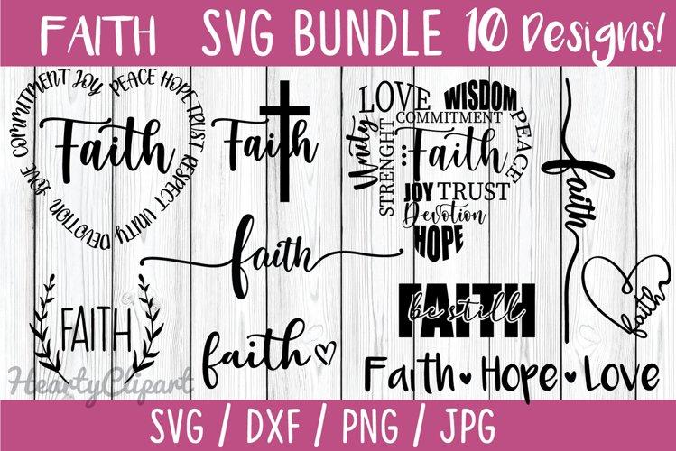Faith svg bundle, 10 faith designs