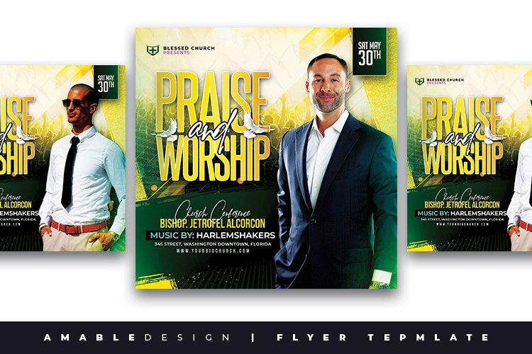 Praise and Worship Flyer