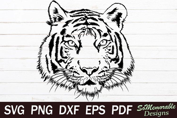 Tiger SVG cut file, Tiger svg design