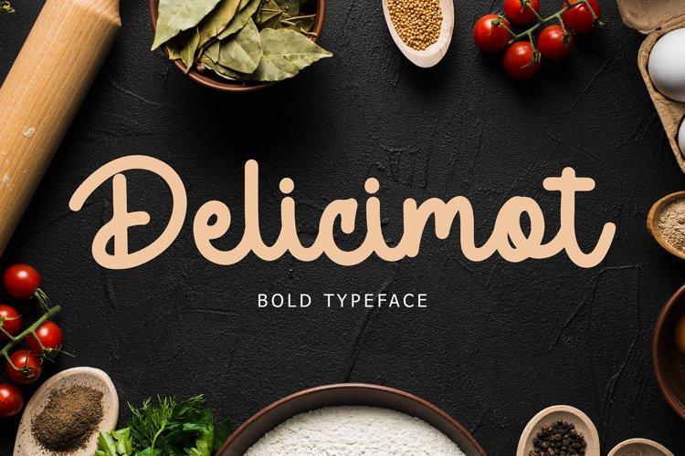 Delicimot Delicious Script Font example image 1