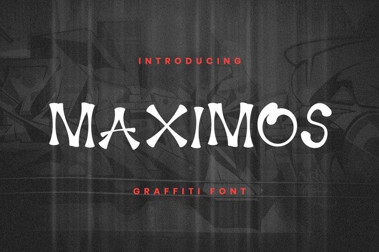Web Font Maximos Font example image 1