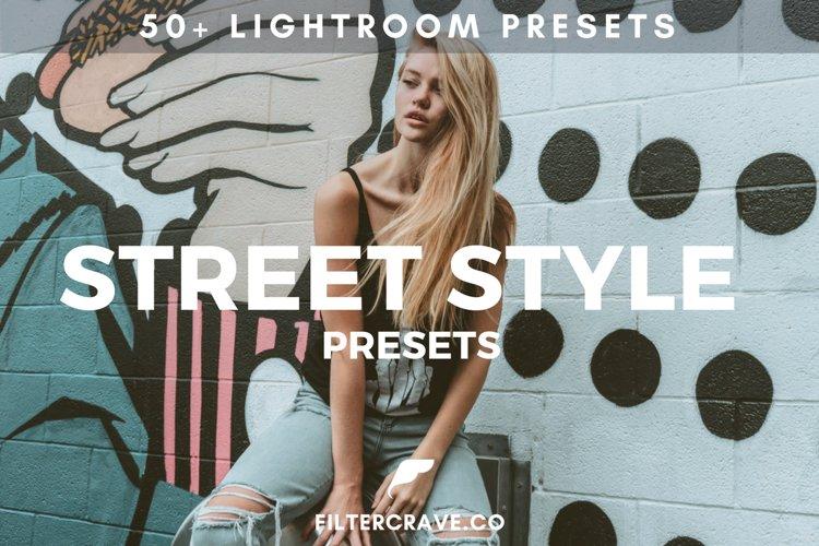 50 Street Style Lightroom Presets Bundle
