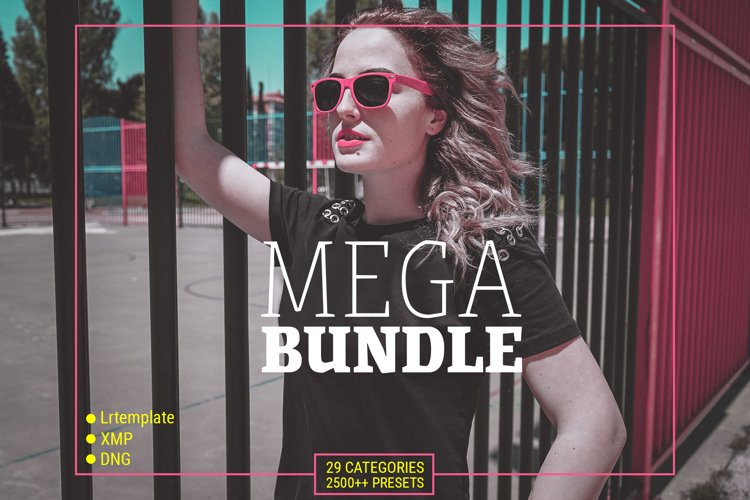 MEGA BUNDLE - PRESETS FOR LIGHTROOM MOBILE, DESKTOP and ACR example image 1