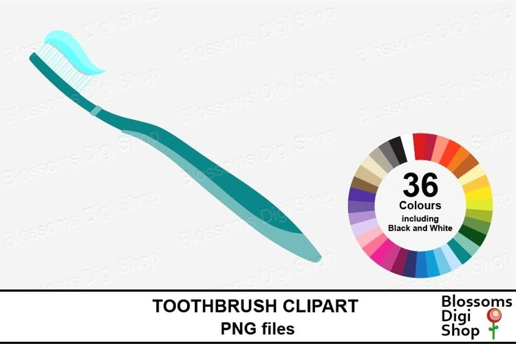 Toothbrush Clipart example image 1