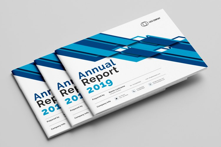 Annual Report Template example image 1