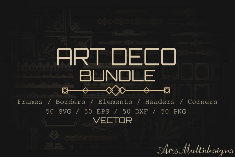 Art deco bundle / art deco svg bundle / art deco vectors