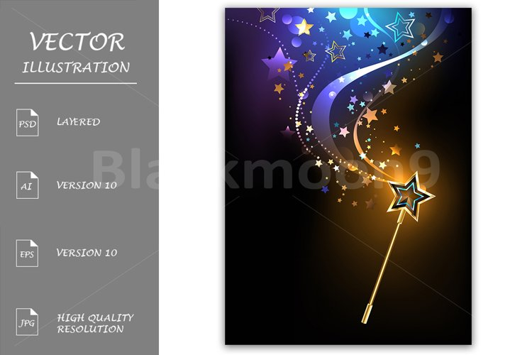 Bright Magic Wand example image 1
