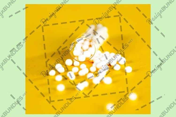 a broken medicine capsule example image 1