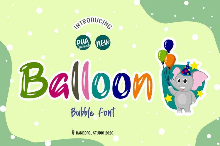 Balloon example image 1