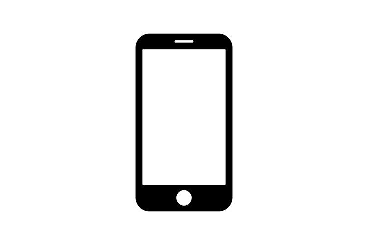 Smartphone icon symbol isolated example image 1