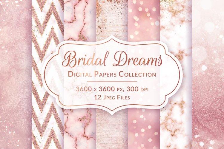 Wedding & Valentines Digital Papers