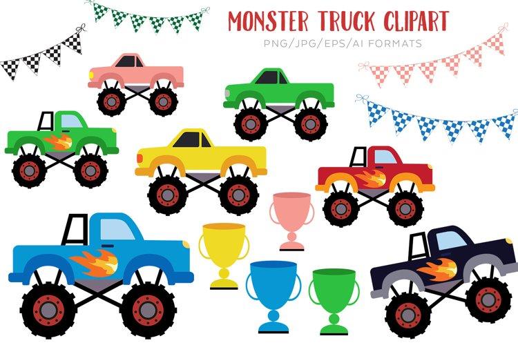 Monster Truck Vector Clipart