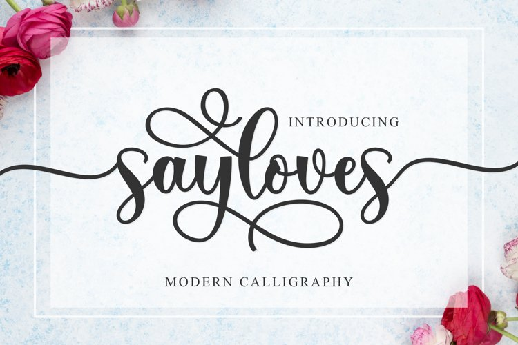 Sayloves example image 1