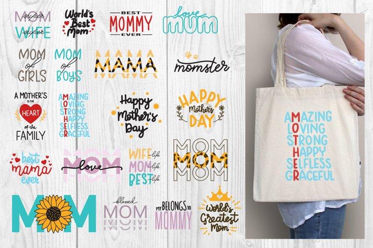 Mothers Day SVG Bundle, Mom - Mama SVG Bundle