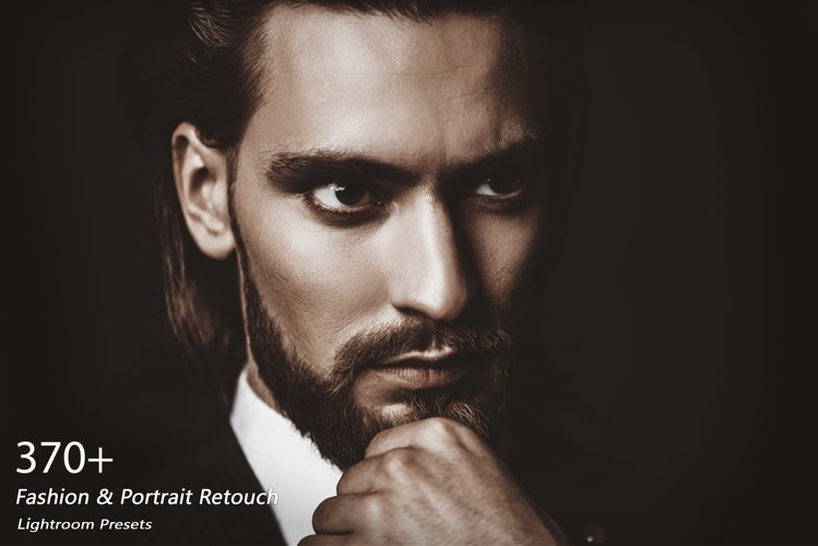 370 Fashion & Portrait Retouch Lightroom Presets example image 1