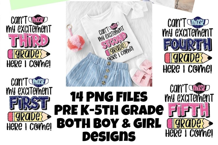 Cant mask my excitement bundle|PNG|digital download example image 1