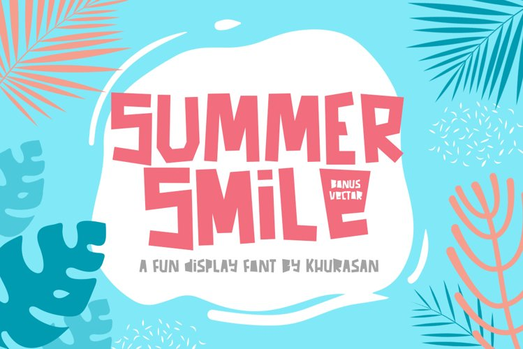 Summer Smile Font example image 1
