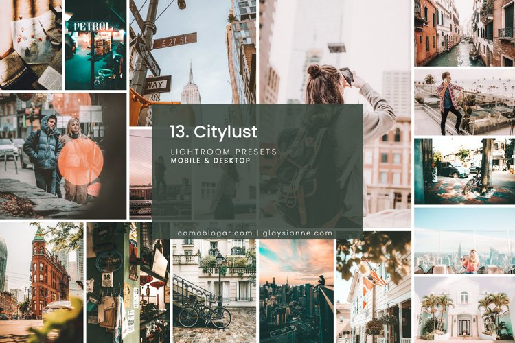 13. City Lust Lightroom Presets example image 1